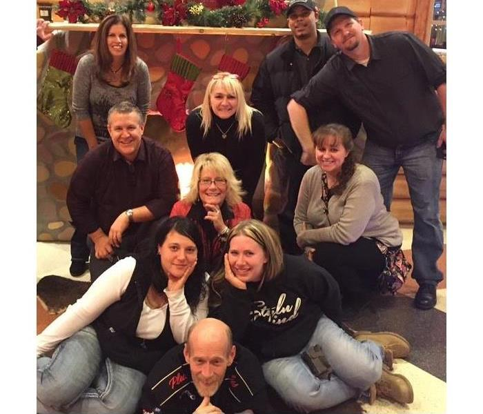 SERVPRO of North Calhoun Christmas Gathering 2015